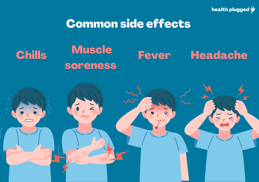 covid 19 common side effects