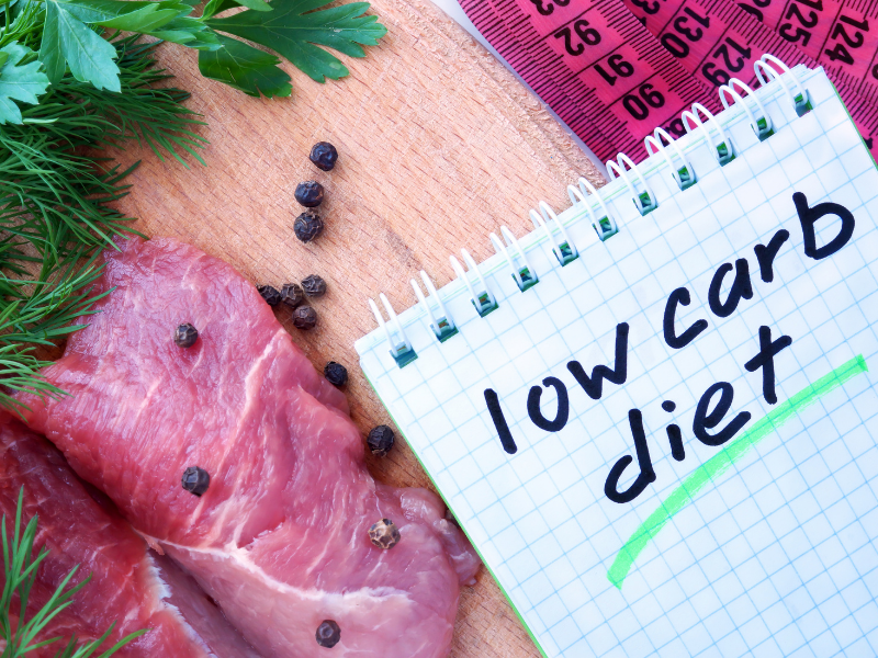low carb diet in PCOS help to regulate insulin or blood sugar levels